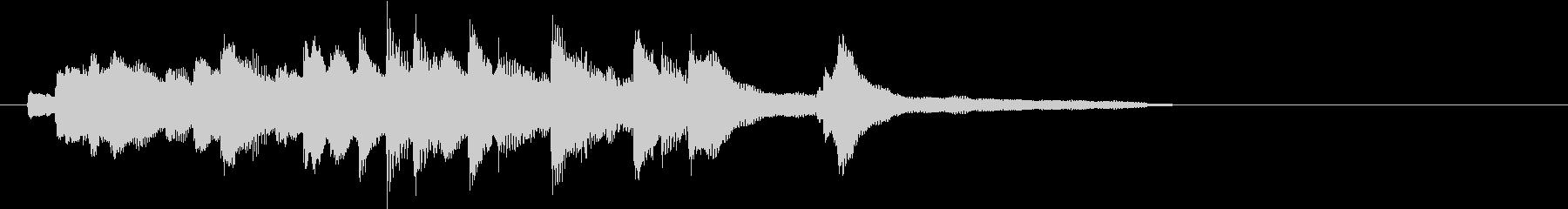 夏を匂わすピアノアイキャッチ A(短縮)の未再生の波形