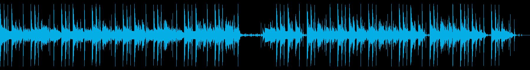 90 BPMの再生済みの波形