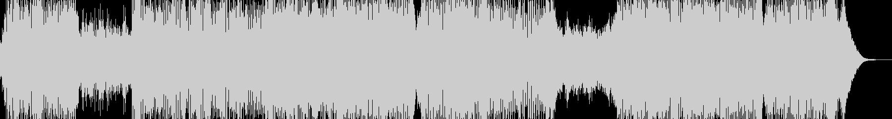 ピアノ・冒険・大空を翔けるテーマ 短尺の未再生の波形