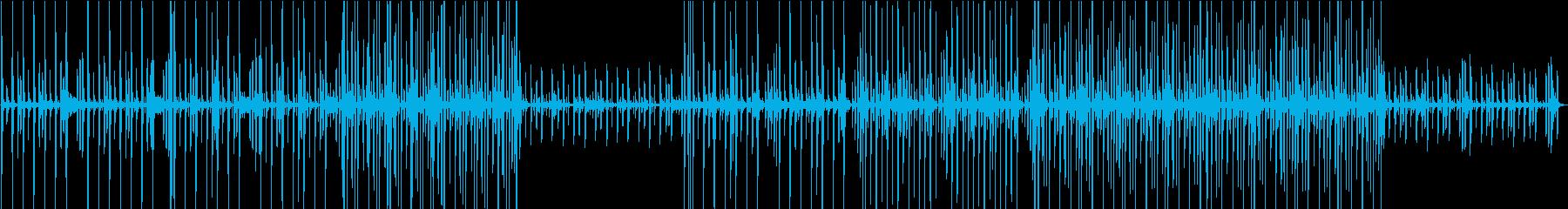 ほのぼの・気分が良いときのBGMの再生済みの波形