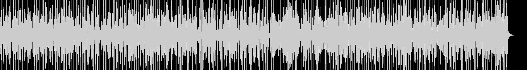 お洒落でキャッチーなジャズピアノトリオ6の未再生の波形