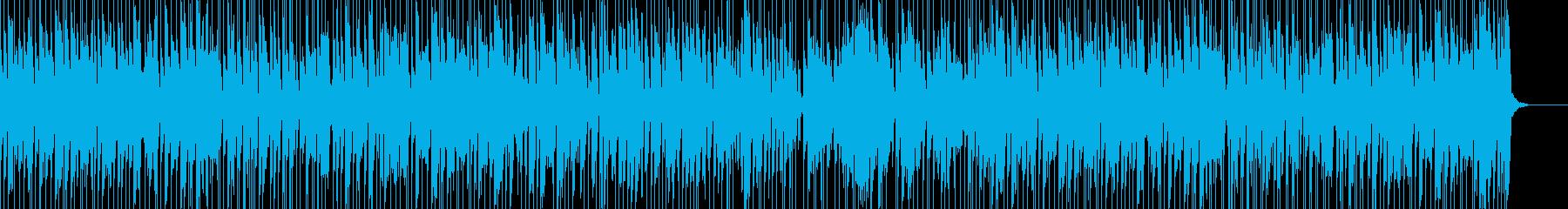 お洒落でキャッチーなジャズピアノトリオ6の再生済みの波形