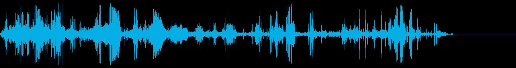 小型ロボットモーフ、ロボット音声、...の再生済みの波形