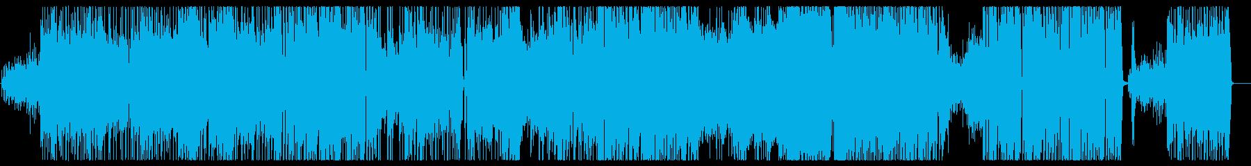 キュートで小悪魔チックなファンクロックの再生済みの波形