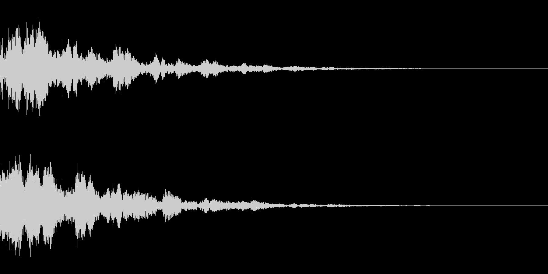 システム音37_Jの未再生の波形