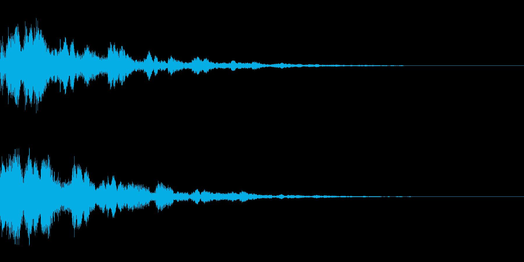システム音37_Jの再生済みの波形