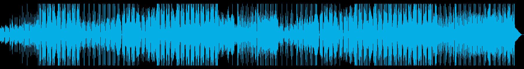 おしゃれ疾走感のシンセポップ・エレクトロの再生済みの波形