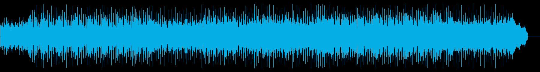 お気楽な雰囲気のカントリージャズの再生済みの波形