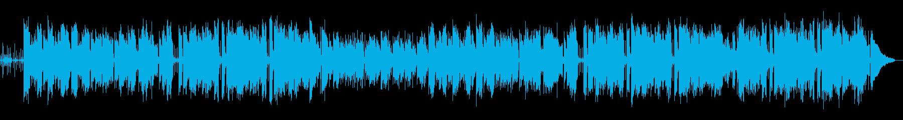 R&B調の静かな悲哀のバラードの再生済みの波形