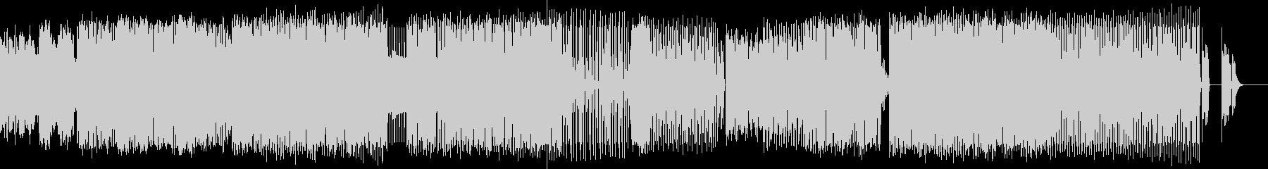 爽やかなHouseMusicの未再生の波形