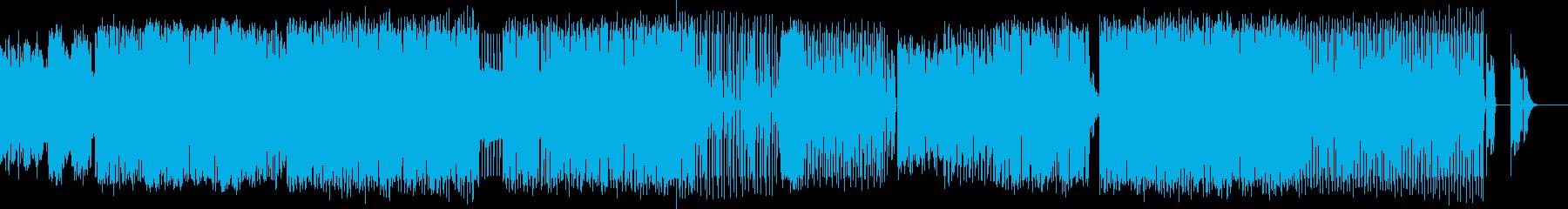 爽やかなHouseMusicの再生済みの波形