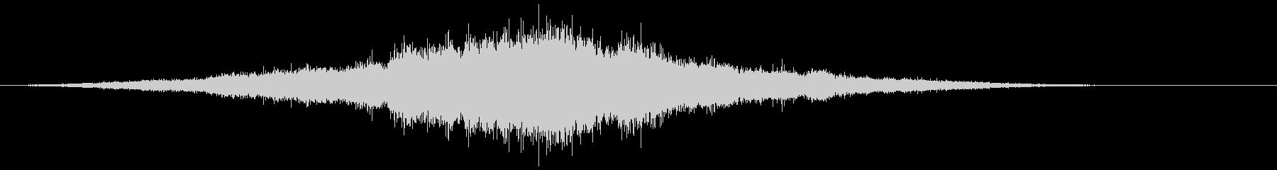 音楽:不気味な教会のベルパターンフ...の未再生の波形