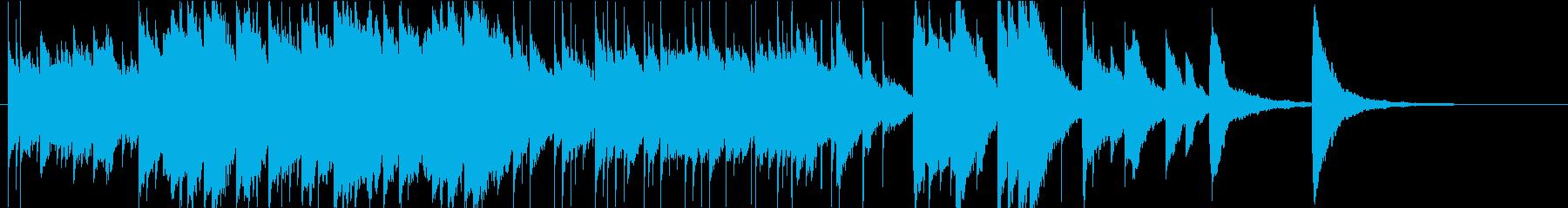 少し切ないハッピーエンド的オルゴールの再生済みの波形
