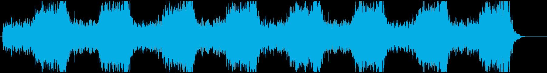 緊張感のあるクラシック曲【オーケストラ】の再生済みの波形