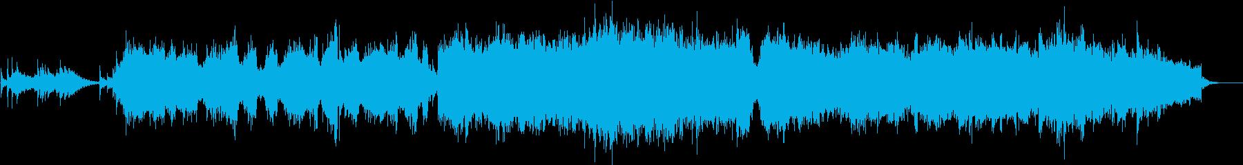 エレクトロニック サスペンス 感情...の再生済みの波形