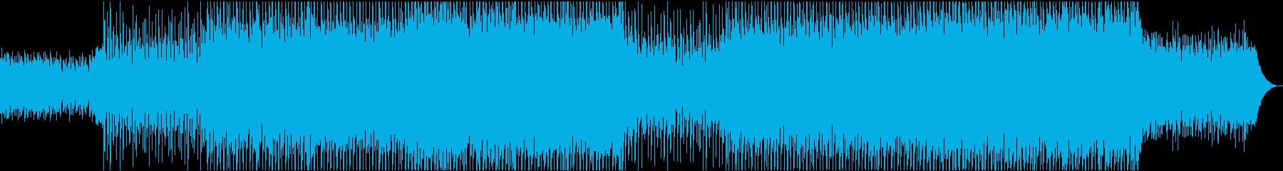 EDMポップで明るいクラブ系-12の再生済みの波形