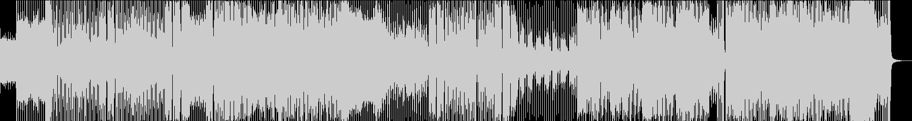 ラストダンスラストの未再生の波形