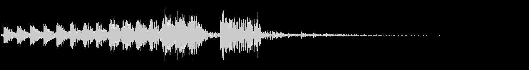 クライミングスワイプの未再生の波形