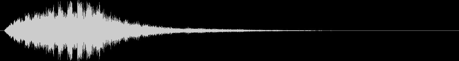ピロロロロロ↓(場面転換、流れ星)の未再生の波形