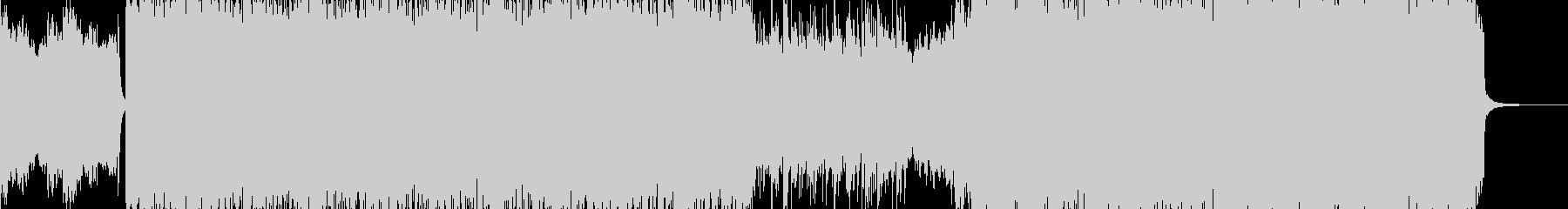 鬼・地獄の業火・ヘビー級ロック 短尺+の未再生の波形