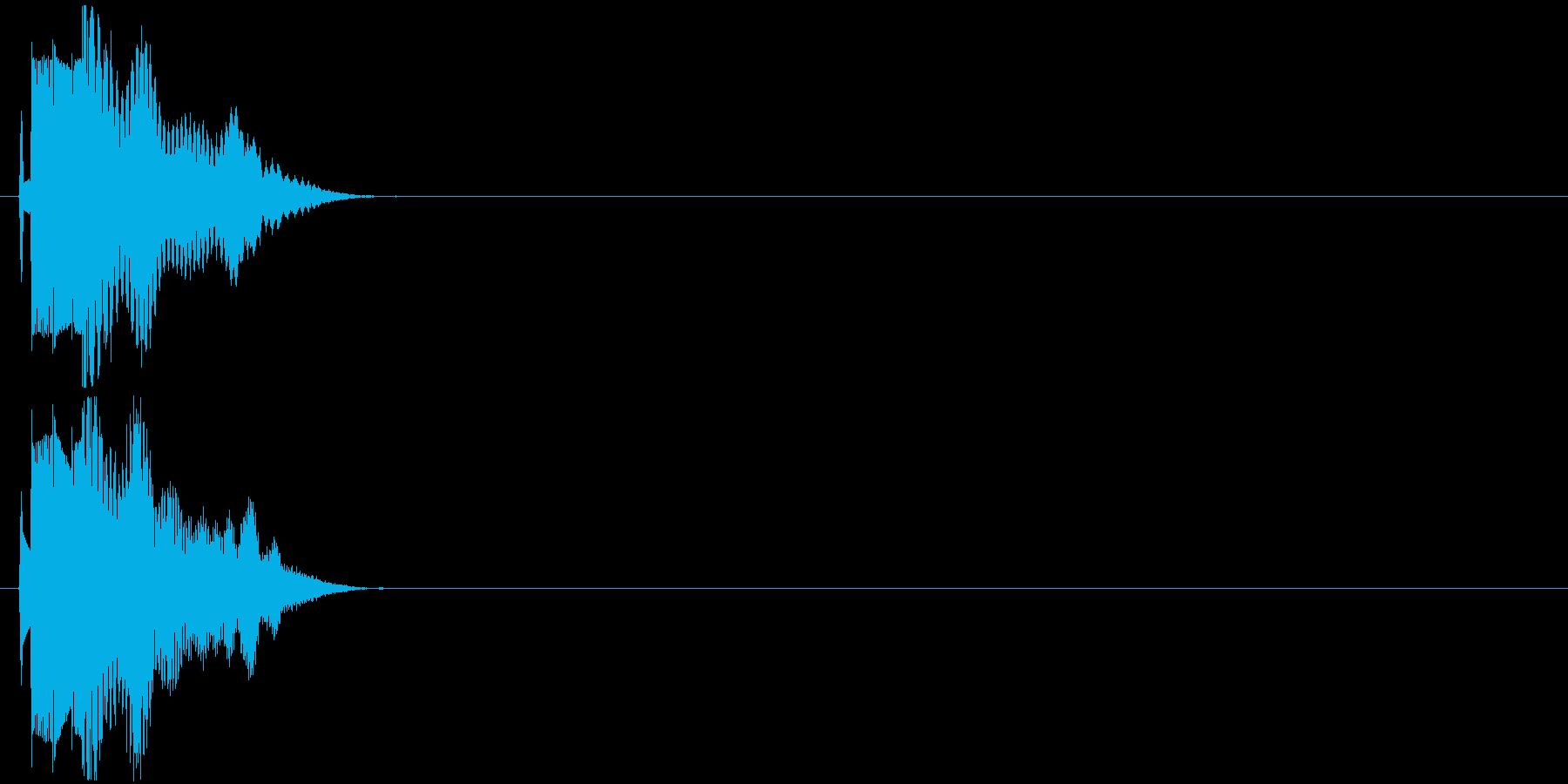 アニメ/漫符/動画/はてな/疑問_000の再生済みの波形