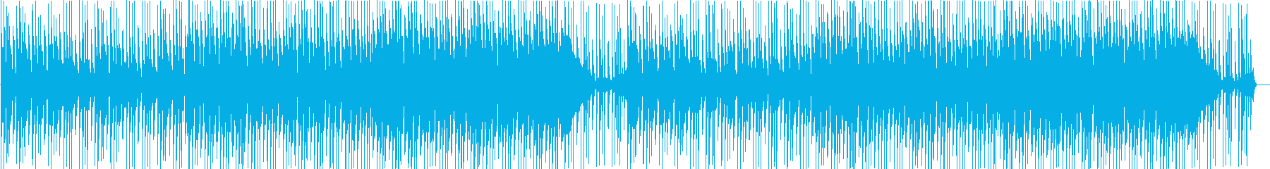 Cheerful 80's blues! Guitar and piano's reproduced waveform
