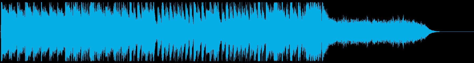 ゴリゴリのヘビメタロックで登場!の再生済みの波形