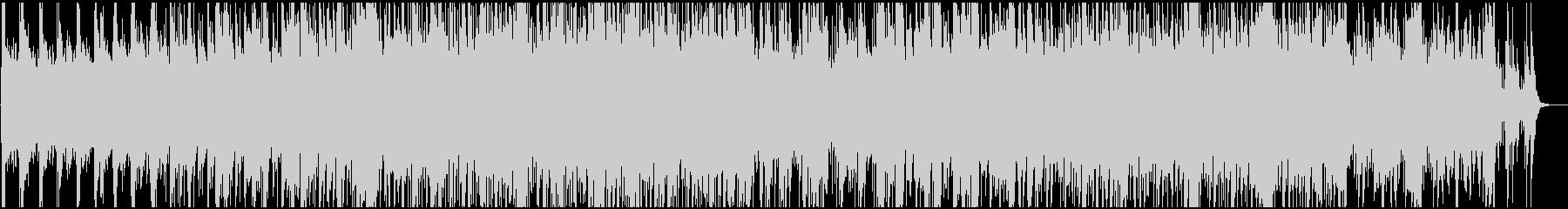 フィドルバイオリンによる酒場風の曲の未再生の波形