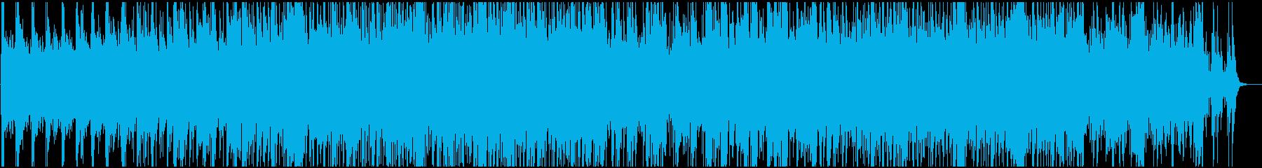 フィドルバイオリンによる酒場風の曲の再生済みの波形