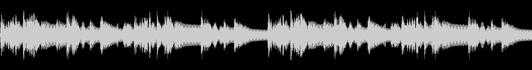 クイズ番組のシンキングタイムBGMの未再生の波形