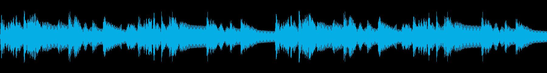 クイズ番組のシンキングタイムBGMの再生済みの波形