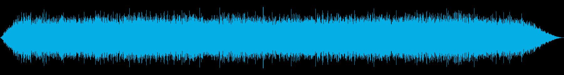 風雨の再生済みの波形