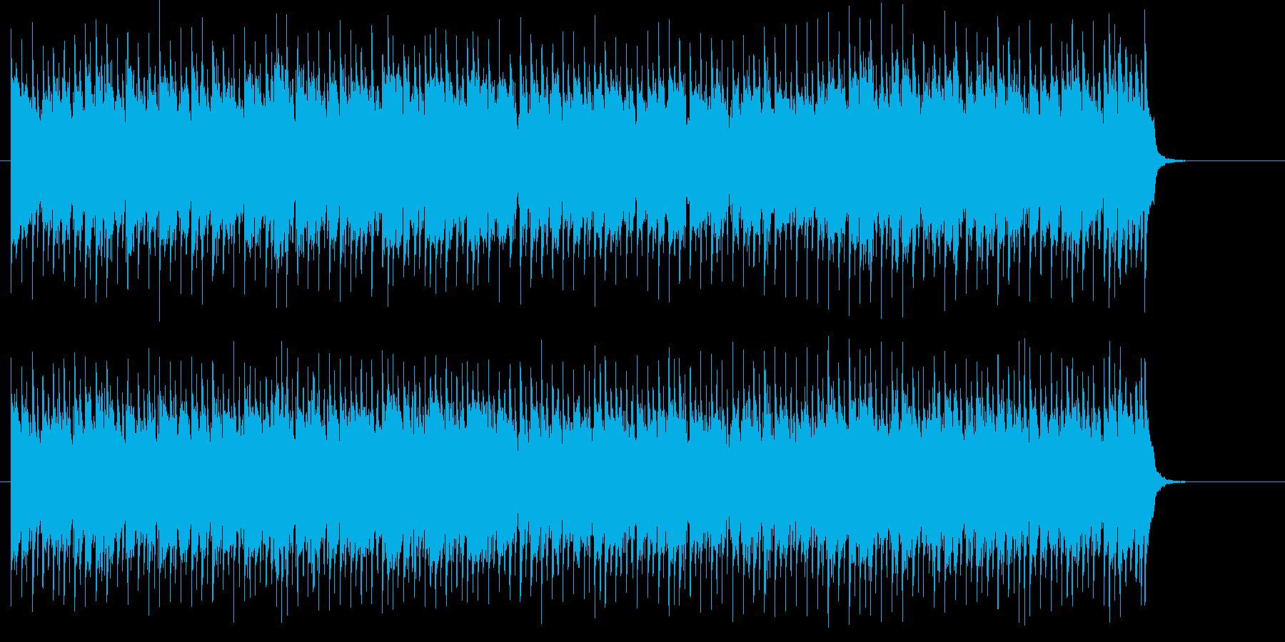 登場 オープニング 明るい わくわくの再生済みの波形