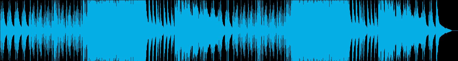 お洒落ジャジーなピアノとサックスのBGMの再生済みの波形