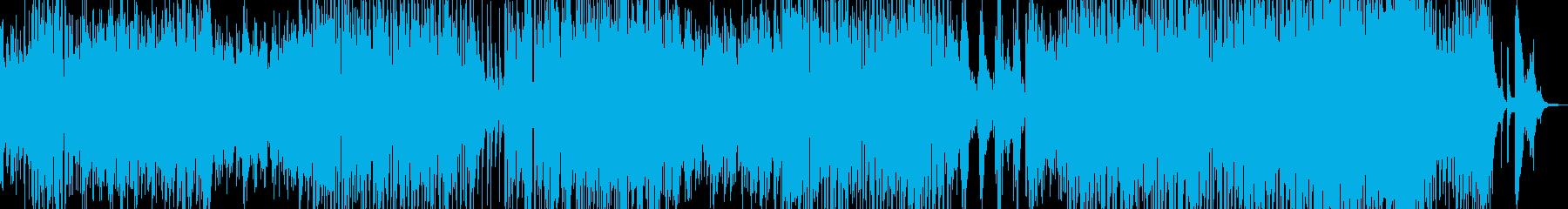 マイナー系ボサ・幻想的の再生済みの波形