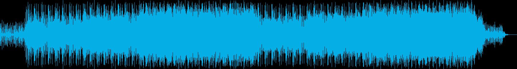 8ビートのエレクトロ、近未来の再生済みの波形