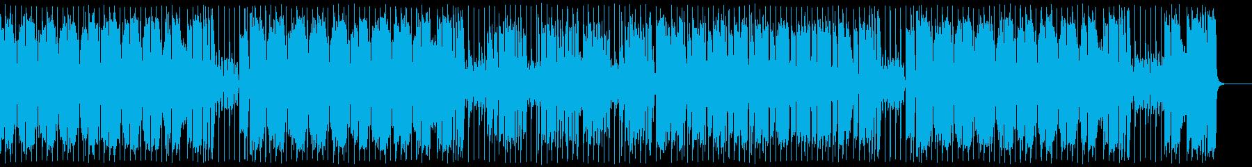 パワフルで派手なビッグバンドファンクの再生済みの波形