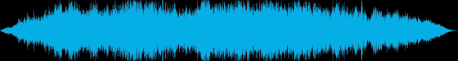 ドローン スペイン語01の再生済みの波形