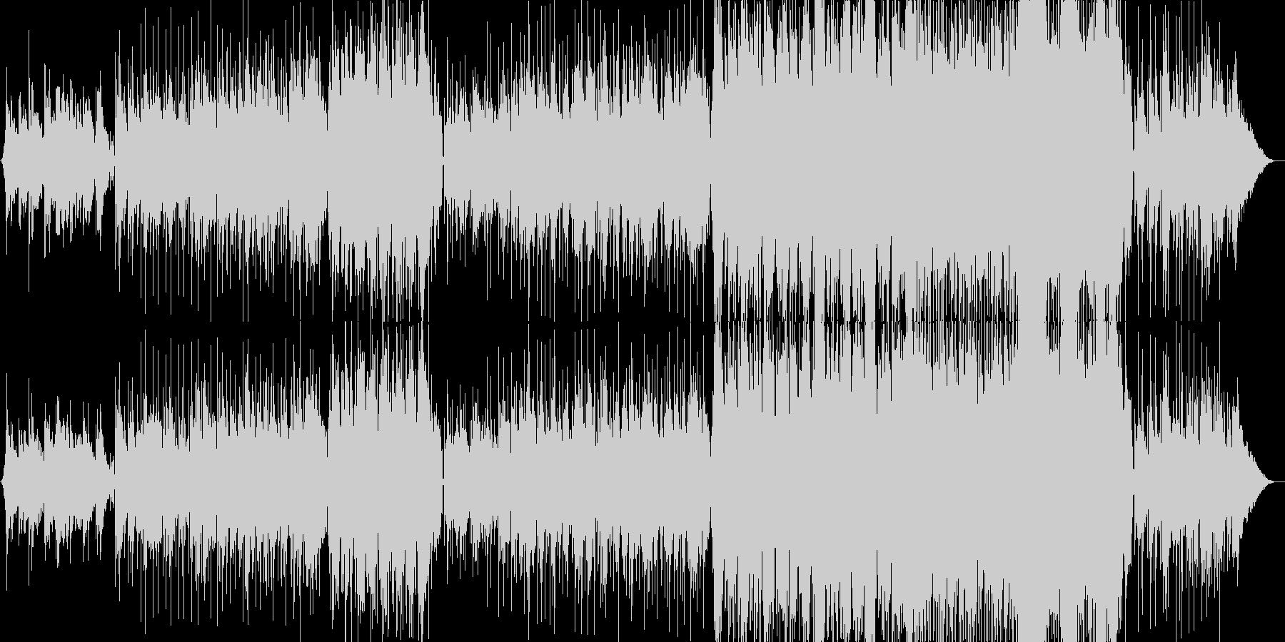 しっとりと切ないR&Bラブ・バラードの未再生の波形