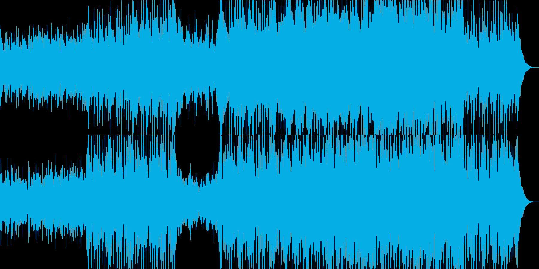 ピアノが印象的なシネマティックサウンドの再生済みの波形