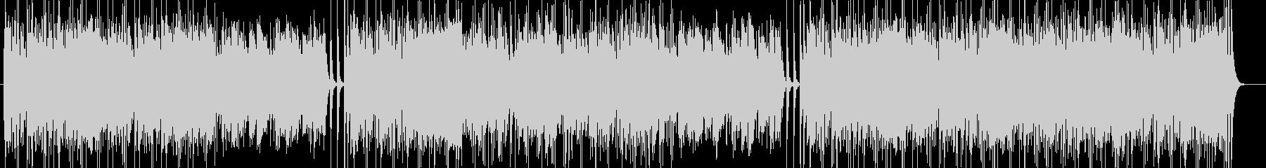 軽快なリズムのストリングス曲の未再生の波形