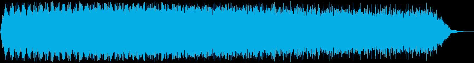 【アンビエント】ドローン_23 実験音の再生済みの波形