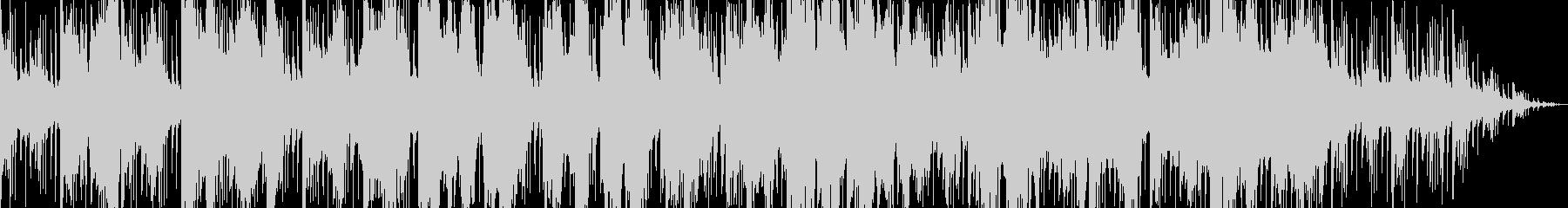 琴と尺八で奏でる和風曲の未再生の波形