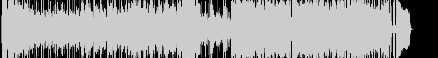 ゲーム用戦闘曲オーケストラロックの未再生の波形