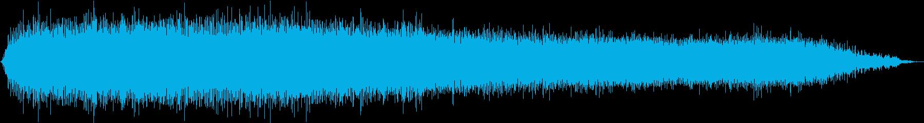のこぎりの切り返し:ドライウォール...の再生済みの波形