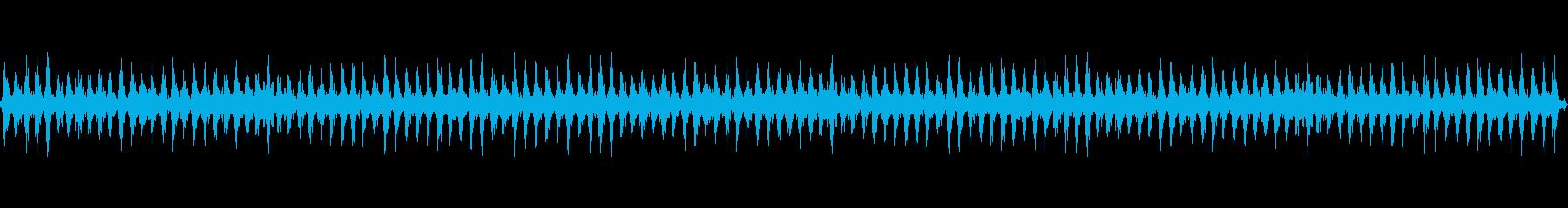 蒸気機関車の再生済みの波形