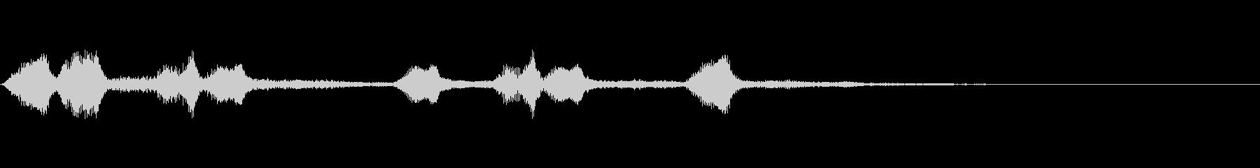ファンファーレ/トランペット 28の未再生の波形