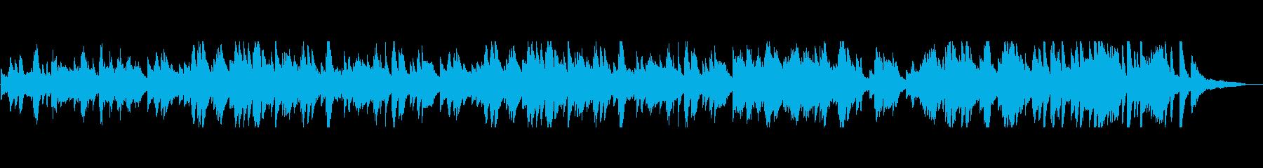 軽快で爽やかなポップス風 ピアノソロの再生済みの波形