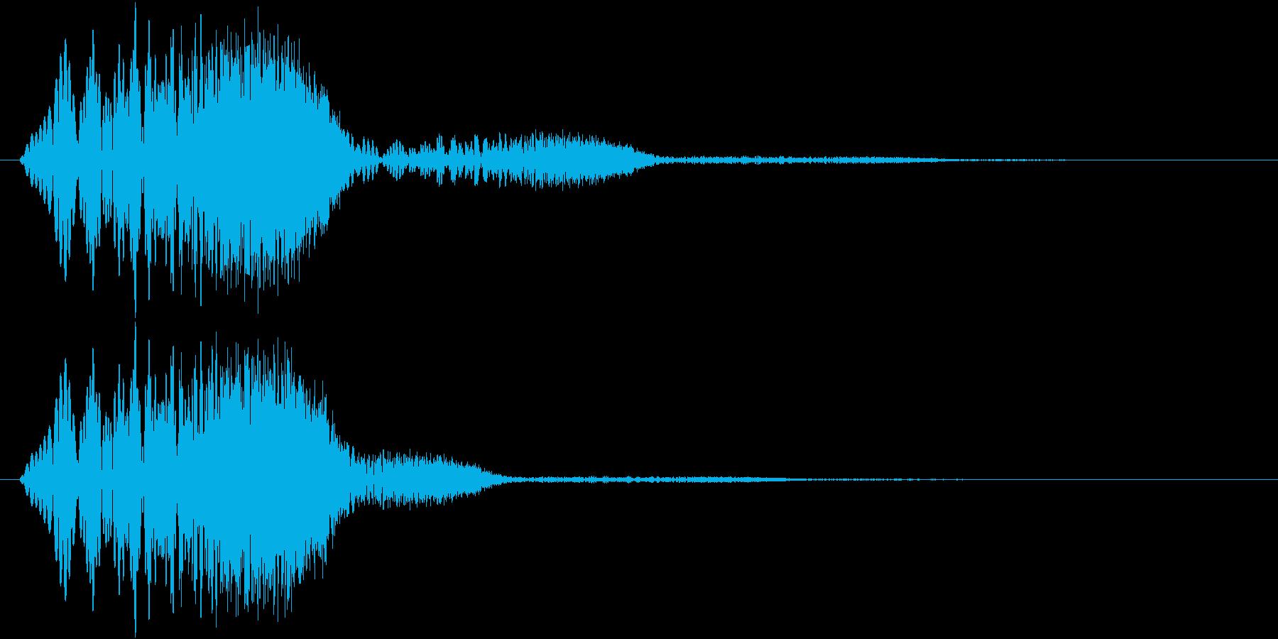 パワーアップ・レベルアップ(ギュイン)の再生済みの波形