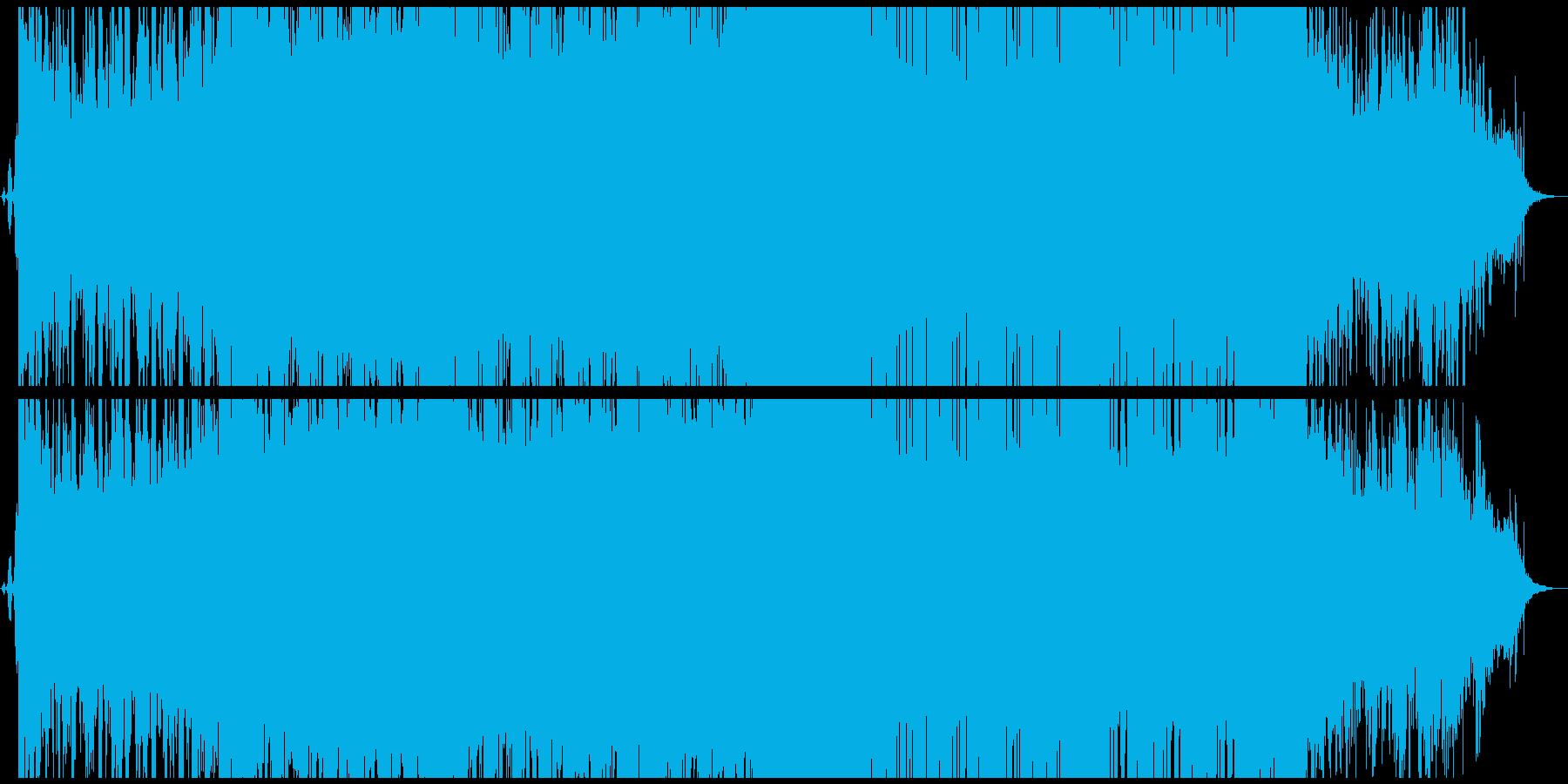 ストリングスが印象的な重いダブステップの再生済みの波形